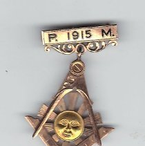 Image of Past Master Jewel Independence Lodge No 76 1915