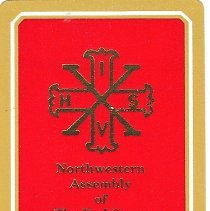 Image of NW Assembly Red Cross of Constantine playing cards 1994 - 2014.6.104