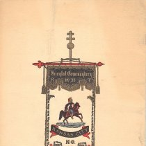 Image of Oriental Commandery KT Program 1923