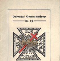 Image of Commandery Calendar Fall Festival Oriental Commandery KT October 1922 - 2014.6.132