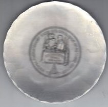 Image of Plate commerations the 200th anniversary of the Grand Lodge of Virginia 1978 - 2015.1.103
