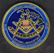 Image of 2015 Hawaii Grand Master Coin - 2015.1.144