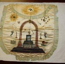 Image of Royal Arch Masonic Apron 1875 - 2015.1.147