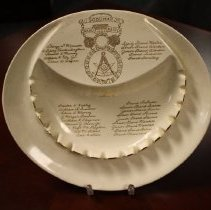 Image of Presentation plate to MWB and Judge Presentation plate present to GM Arthur Goodwin 1964 - 2015.1.149