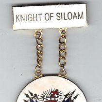 Image of Knight of Siloam KT Medal - 2015.1.153