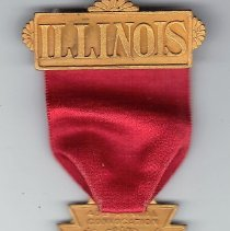 Image of Attendence Ribbon, Grand Chapter of Illiniois 1927 - 2015.1.29