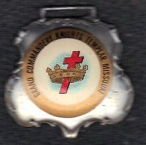 Image of Missouri Grand Commandery Watch Fob - 2015.1.32