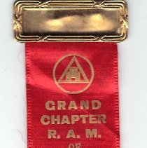 Image of Badge, Grand Chapter Royal Arch Masons of Missouri 1939 - 2015.1.37