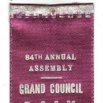 Image of Grand Council of Kansas Badge, 1952 - 2015.1.40