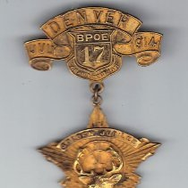 Image of BPOE Denver Col. Jewel 1914
