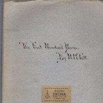 Image of Liberty Lodge No 41 - Freemasonry--History--Missouri Lodge history--Missouri--Liberty No. 31
