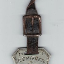 Image of Masonic Watch Fob 1911 - 2015.1.91