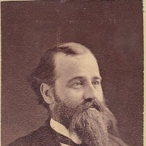 Image of George Frank Gouley Grand Secretary 1866-1877 - 2015.1.95