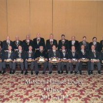 Image of Grand Lodge of Missouri Officers 2011-2012 - 2015.2.1