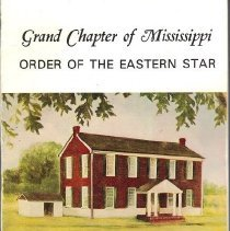 Image of Grand Chapter of Mississippi OES - Eastern Star--Yearbooks--Mississippi