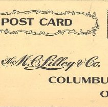 Image of M.C. Lilley & Co postcard - 2015.3.2