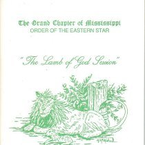 Image of Grand Chapter of Mississippi OES - Eastern Star--Yearbooks--Mississippi Eastern Star--History--Mississippi