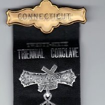 Image of Attendence Ribbon, 1895 KT Conclave 26th Triennial, Grand Encampment of the U.S. - 2015.3.74