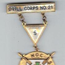 Image of Drill Team Bar Knights Templar Drill Corp No. 21 - 2015.3.75