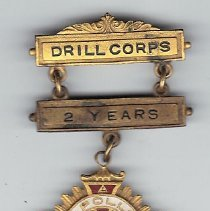 Image of Knight Templar Commandery No 15 Troy New York Drill Jewel 1940 - 2015.3.78