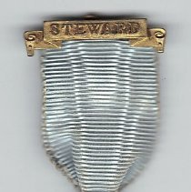 Image of Steward Jewel, East Lancaster Masonic Benevolent Institution pin 1924 - 2015.3.81