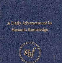Image of Masonic Book Club - Blue Friars Freemasonry--Address, lectures, oration