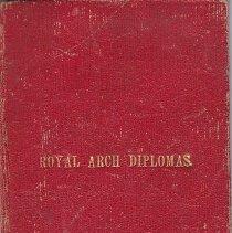 Image of 1880 Royal Arch Diploma - 2015.5.180