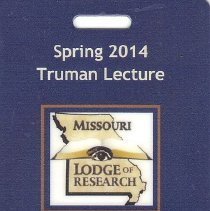 Image of Credentials Spring 2014 Truman Lecture