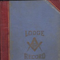 Image of Lodge Minutes Union Lodge No. 593 Sept 1940 to Dec 1945 - 2015.5.27
