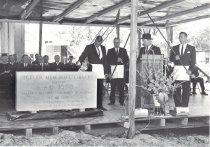 Image of Cornerstone Ceremony Northeast Missouri State Pickler Library 1966