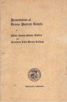 Image of University of Missouri - Rollins, James S. 1812-1888 Lathrop, John Hiram 1799-1866