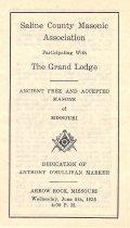 Image of Freemasonry--History--Missouri