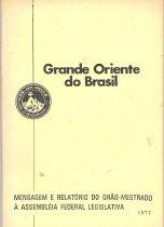 Image of Grand Oriente do Brazil - Freemasonry--Yearbooks--Brazil Freemasonry--History--Brazil