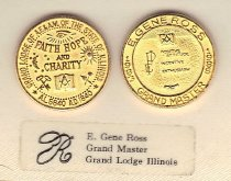 Image of Grand Master Ross cuff links - 2015.5.404
