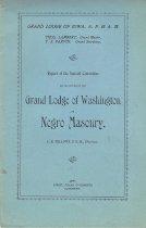 Image of Egbert, Fidlar & Chambers - Negro Freemasonry--Addresses, lectures, orations, etc
