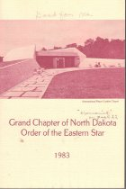 Image of Grand Chapter of North Dakota OES - Eastern Star--History--North Dakota