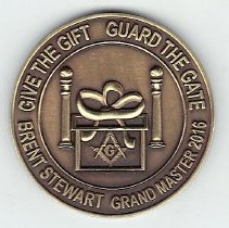Image of Grand Master Stewart Coin - 2015.10.6