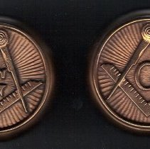 Image of Masonic Door Knobs from Masonic Home on Delmar in St Louis - 2015.8.170