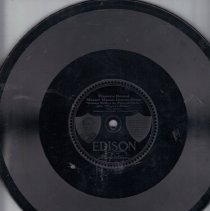 Image of Masonic Phonograph Record with Third degree songs - 2015.8.173