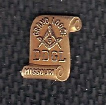 Image of District Deputy Grand Lecturer Pin - 2015.8.4