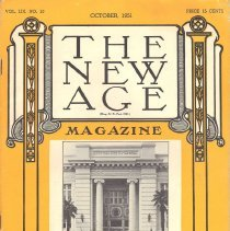 Image of The New Age October 1951