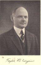 Image of Taylor B. Wyrick Grand Commander KT 1931
