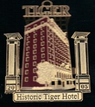 Image of Tiger Hotel Ornament - 2015.11.314