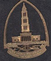 Image of George Washington National Masonic Memorial Christmas ornament - 2015.11.373