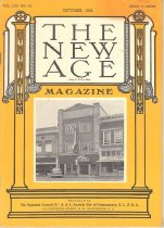 Image of The New Age AASR October 1954