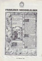 Image of Grand Lodge of Denmark - Masonic Periodicals--Denmark Freemasonry--History--Denmark