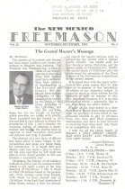 Image of Grand Lodge of New Mexico - Freemasonry--History--New Mexico