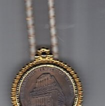 Image of New Temple St Louis Bolo Tie - 2016.1.149