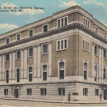 Image of Masonic Temple 9th and Harrison pne cent postcard - 2016.2.23