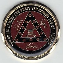 Image of Palestine Commandery Challenge Coin - 2016.2.68